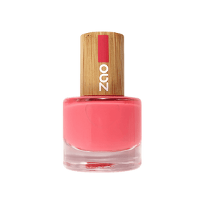 This image shows the ZAO Cosmetics and ZAO Natural Organic Mineral Vegan Cruelty-Free (like Inika, Bobbi Brown and Nude By Nature) and Refillable Bamboo Makeup Australia Online Retail Store Nail Polish Coral 656