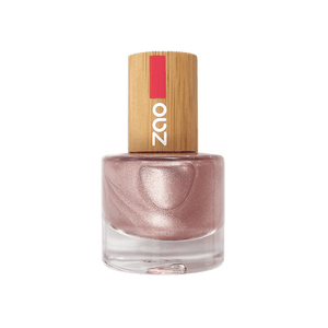 This image shows the ZAO Natural Organic Mineral Vegan Cruelty-Free (like Inika, Bobbi Brown and Nude By Nature) and Refillable Bamboo Makeup Australia Online Retail Store Nail Polish Champagne 658