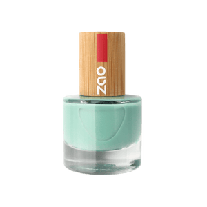This image shows the ZAO Cosmetics and ZAO Natural Organic Mineral Vegan Cruelty-Free (like Inika, Bobbi Brown and Nude By Nature) and Refillable Bamboo Makeup Australia Online Retail Store Nail Polish Aquamarine 660