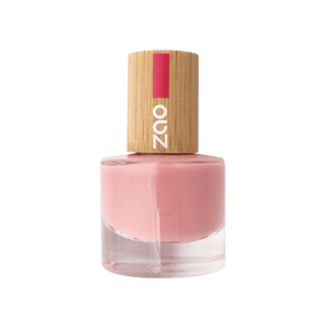 This image shows the ZAO Cosmetics and ZAO Natural Organic Mineral Vegan Cruelty-Free (like Inika, Bobbi Brown and Nude By Nature) and Refillable Bamboo Makeup Australia Online Retail Store Nail Polish Antique Pink 662