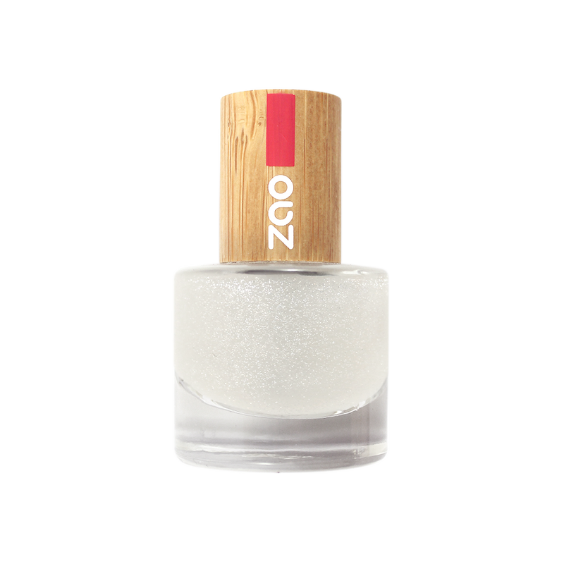This image shows the ZAO Natural Organic Mineral Vegan Cruelty-Free (like Inika, Bobbi Brown and Nude By Nature) and Refillable Bamboo Makeup Australia Online Retail Store Glitter Top Coat 665