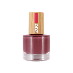 This image shows the ZAO Cosmetics and ZAO Natural Organic Mineral Vegan Cruelty-Free (like Inika, Bobbi Brown and Nude By Nature) and Refillable Bamboo Makeup Australia Online Retail Store Nail Polish Amaranth Pink 667