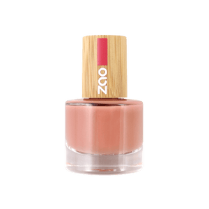 This image shows the ZAO Cosmetics and ZAO Natural Organic Mineral Vegan Cruelty-Free (like Inika, Bobbi Brown and Nude By Nature) and Refillable Bamboo Makeup Australia Online Retail Store Nail Polish Bohemian Orange 669