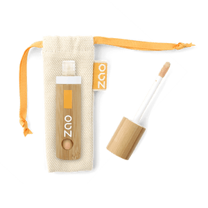 This image shows the ZAO Cosmetics and ZAO Natural Organic Mineral Vegan Cruelty-Free (like Inika, Bobbi Brown and Nude By Nature) and Refillable Bamboo Makeup Australia Online Retail Store Light Touch Complexion - Bamboo Case Product Peach 723
