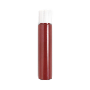 This image shows the ZAO Natural Organic Mineral Vegan Cruelty-Free (like Inika, Bobbi Brown and Nude By Nature) and Refillable Bamboo Makeup Australia Online Retail Store Lip Polish - Refill Cherry Red 036