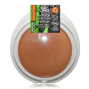 This image shows the ZAO Natural Organic Mineral Vegan Cruelty-Free (like Inika, Bobbi Brown and Nude By Nature) and Refillable Bamboo Makeup Australia Online Retail Store Bronzer - Mineral Cooked Powder - Refill Mattifying 346
