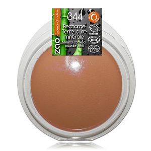 This image shows the ZAO Natural Organic Mineral Vegan Cruelty-Free (like Inika, Bobbi Brown and Nude By Nature) and Refillable Bamboo Makeup Australia Online Retail Store Bronzer - Mineral Cooked Powder - Refill Golden Bronze 343