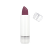 This image shows the ZAO Natural Organic Mineral Vegan Cruelty-Free (like Inika, Bobbi Brown and Nude By Nature) and Refillable Bamboo Makeup Australia Online Retail Store Ultra Matt Soft Touch Lipstick - Refill Eggplant 437
