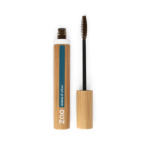 This image shows the ZAO Natural Organic Mineral Vegan Cruelty-Free (like Inika, Bobbi Brown and Nude By Nature) and Refillable Bamboo Makeup Australia Online Retail Store Volume and Sheathing Mascara Cocoa 086
