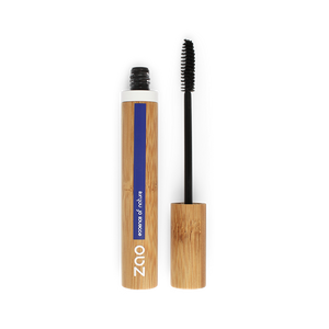 This image shows the ZAO Natural Organic Mineral Vegan Cruelty-Free (like Inika, Bobbi Brown and Nude By Nature) and Refillable Bamboo Makeup Australia Online Retail Store  Aloe vera Mascara - Refill Black 090
