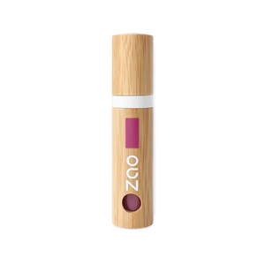 This image shows the ZAO Cosmetics and ZAO Natural Organic Mineral Vegan Cruelty-Free (like Inika Bobbi Brown Nude for Nature) and Refillable Bamboo Makeup Australia Online Retail Store Lip Ink  Bordeaux Chic 442 Full Bamboo Product – No pouch