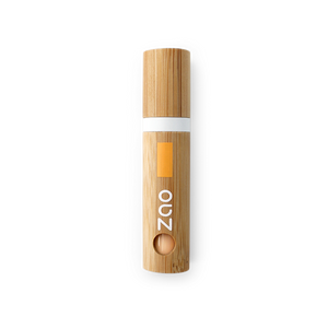 This image shows the ZAO Cosmetics and ZAO Natural Organic Mineral Vegan Cruelty-Free (like Inika, Bobbi Brown and Nude By Nature) and Refillable Bamboo Makeup Australia Online Retail Store Light Touch Complexion Bamboo Case Without Cotton Pouch Peach 723