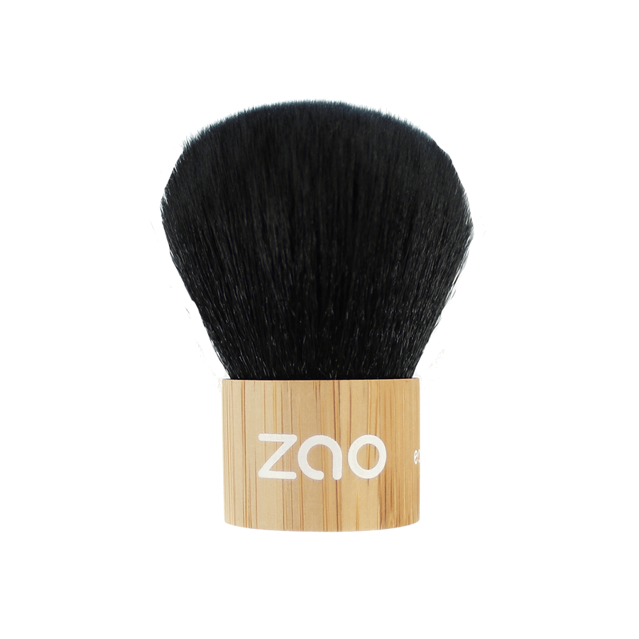 This image shows the ZAO Makeup  Bamboo Kabuki Brush 701