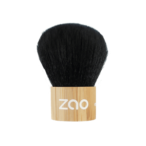 This image shows the ZAO Cosmetics and ZAO Natural Organic Mineral Vegan Cruelty-Free (like Inika, Bobbi Brown and Nude By Nature) and Refillable Bamboo Makeup Australia Online Retail StoreBamboo Kabuki Brush 701
