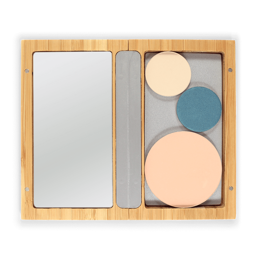 This image shows the ZAO Organic Vegan and Refillable Makeup Australia Online Retail StoreBamboo Box M