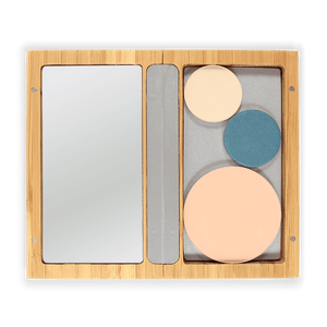 This image shows the ZAO Cosmetics and ZAO Natural Organic Mineral Vegan Cruelty-Free (like Inika, Bobbi Brown and Nude By Nature) and Refillable Bamboo Makeup Australia Online Retail StoreBamboo Box M