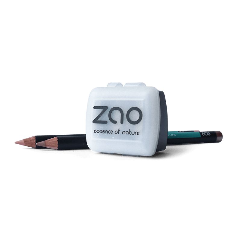 This image shows the ZAO Cosmetics and ZAO Natural Organic Mineral Vegan Cruelty-Free (like Inika, Bobbi Brown and Nude By Nature) and Refillable Bamboo Makeup Australia Online Retail Store Pencil Sharpener