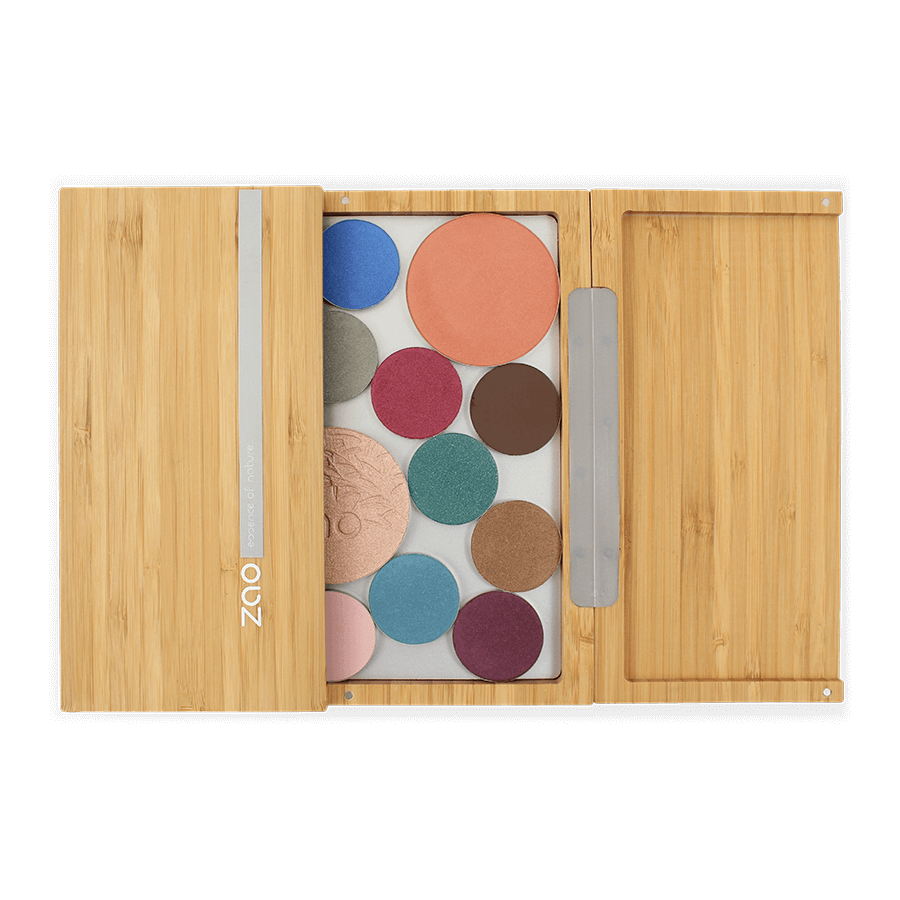This image shows the ZAO Makeup  Bamboo Box XL