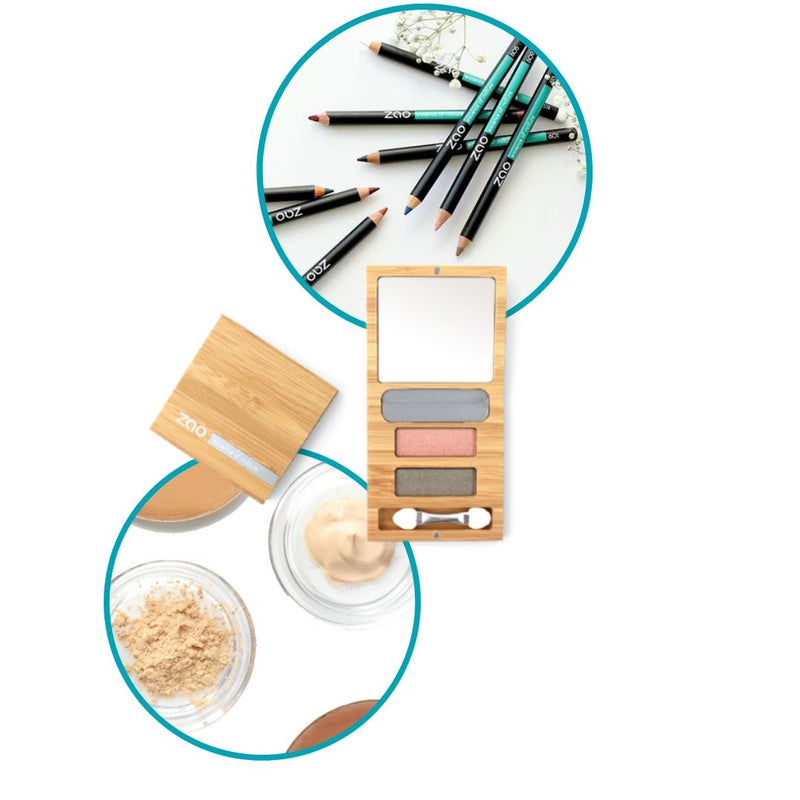 PENCIL + Palette Duo FLOWER + 8 FREE Complexion Samples
