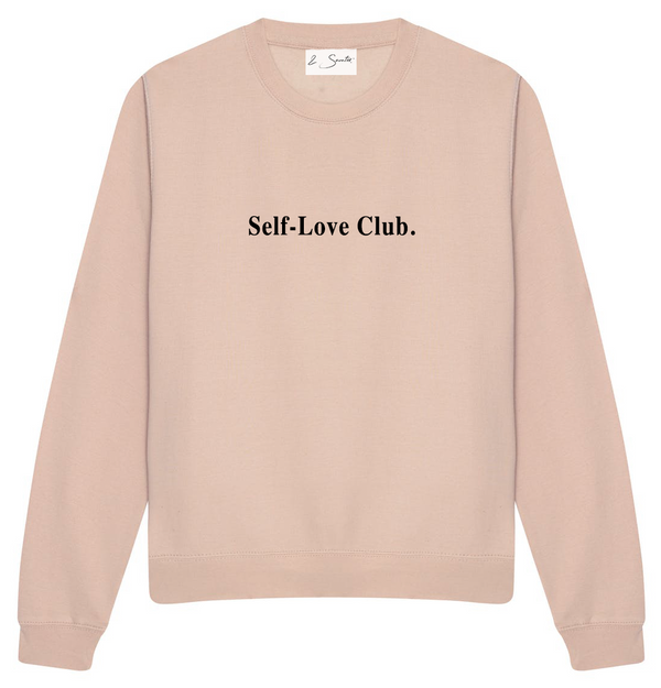 "Nude ""Self-love Club"" Sweater - andsaunter"