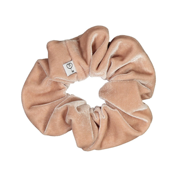 Velour Scrunchie XL, Powder