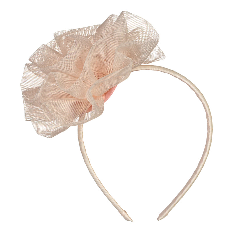 ROSE Tulle Headband, Pastry