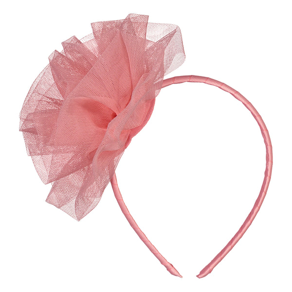 ROSE Tulle Headband, Sorbet