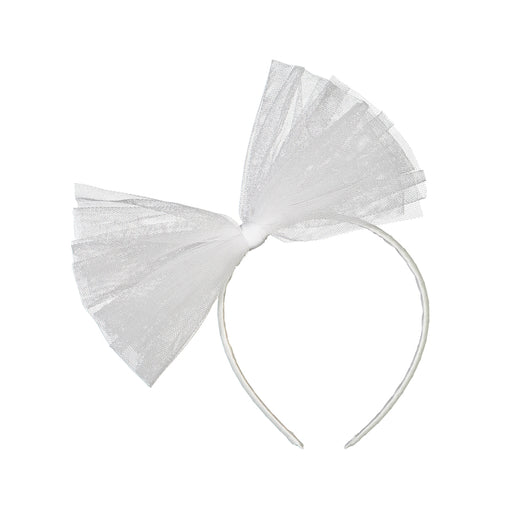 BEBE Tulle Headband, Snow White
