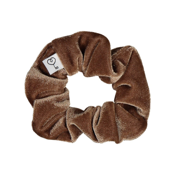 Velour Scrunchie, Hazel