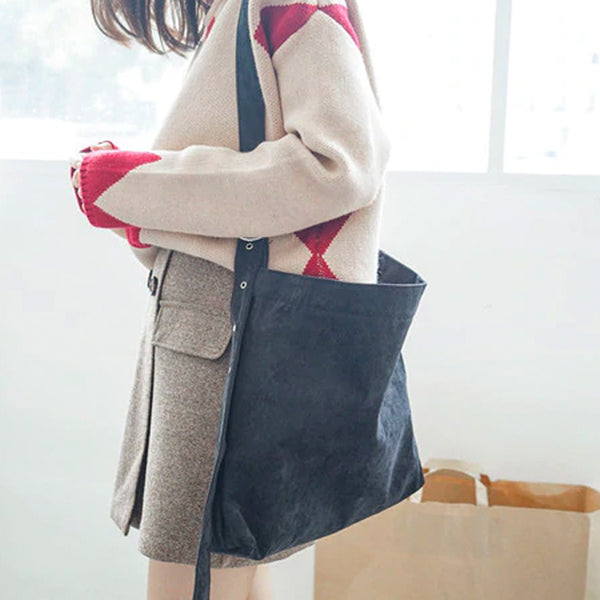Eleanor Corduroy Shoulder Bag