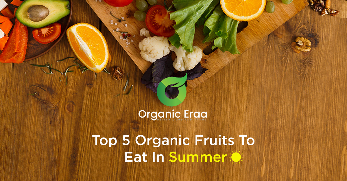5 Organic Summer Fruits That Will Keep You Hydrated and Healthy