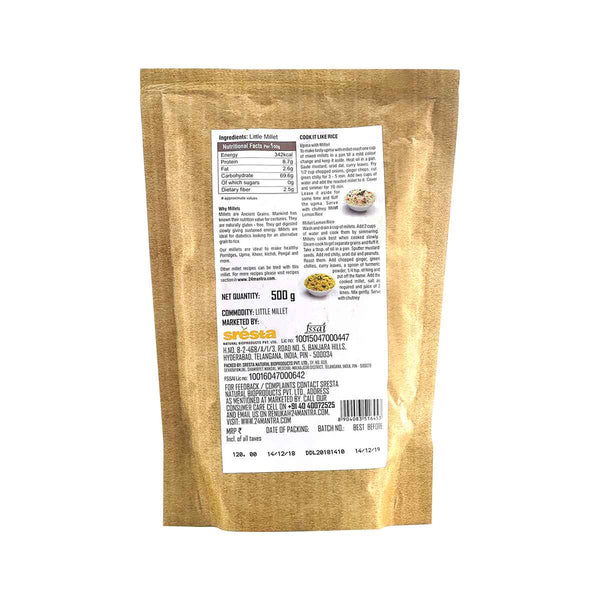 24 Mantra Little Millet, 500g
