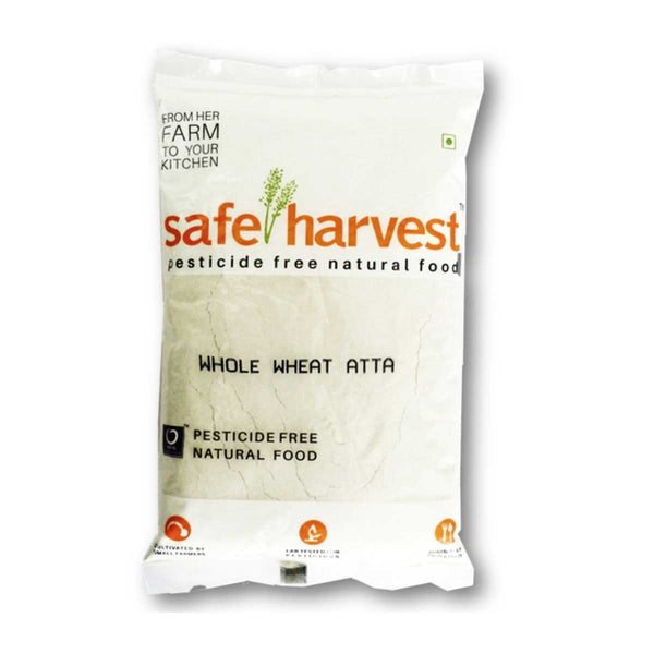 Safe Harvest Whole Wheat Atta, 1kg