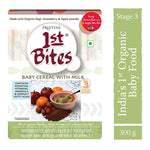 Pristine Ragi,Strawberry & Apple Powder - Baby Cereal With Milk, 300g
