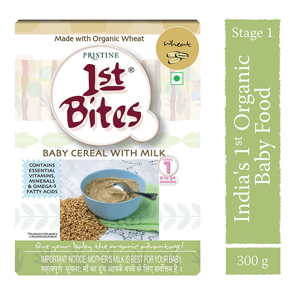 Pristine Wheat - Baby Cereal With Milk, 300g
