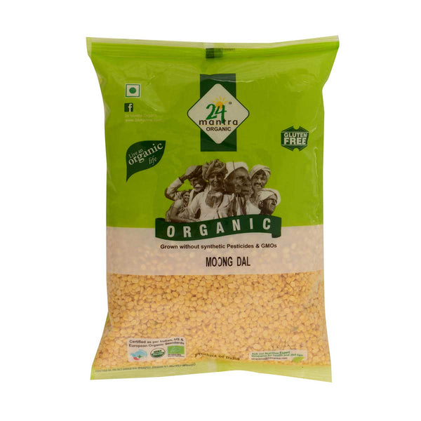 24 Mantra Moong Dal, 500g