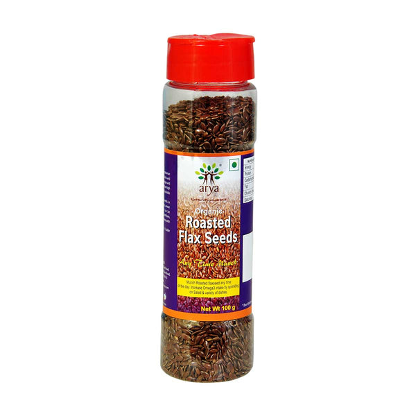 Arya Roasted Flaxseeds, 100g