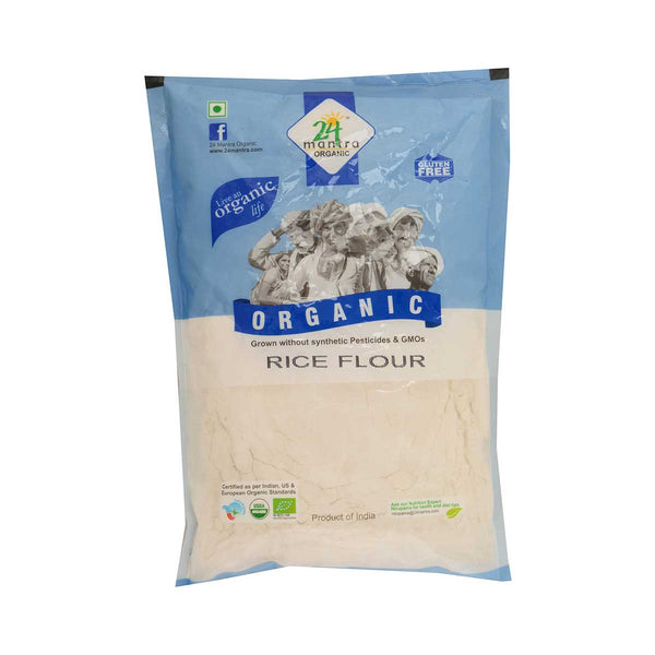 24 Mantra Rice Flour, 500g