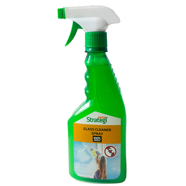 Herbal Strategi Glass Cleaner Spray, 500 ml