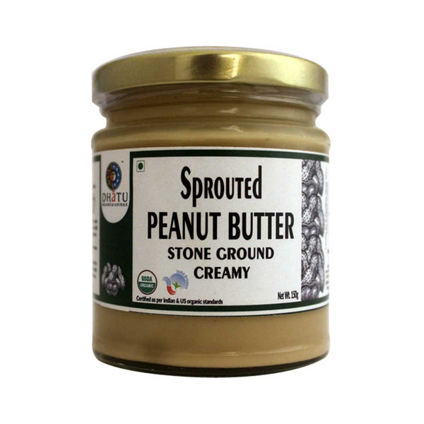 Dhatu Sprouted Peanut Butter, 150g
