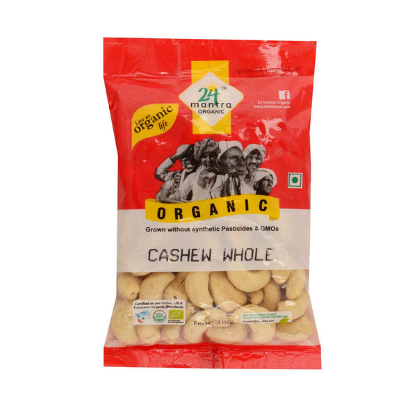 24 Mantra Cashew Whole, 100g