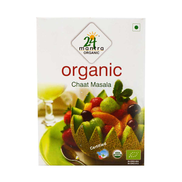 24 Mantra Chat Masala, 50g