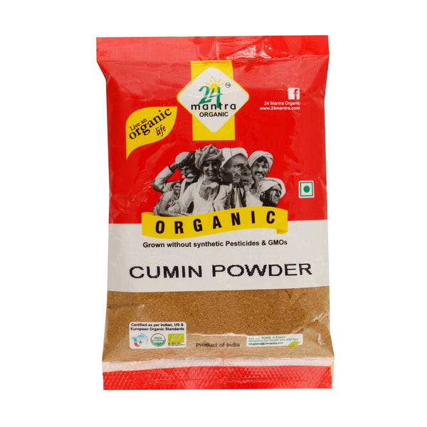 24 Mantra Cumin Powder, 100g