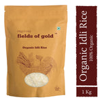 Pristine Fields of Gold - Organic Idli Rice, 1Kg