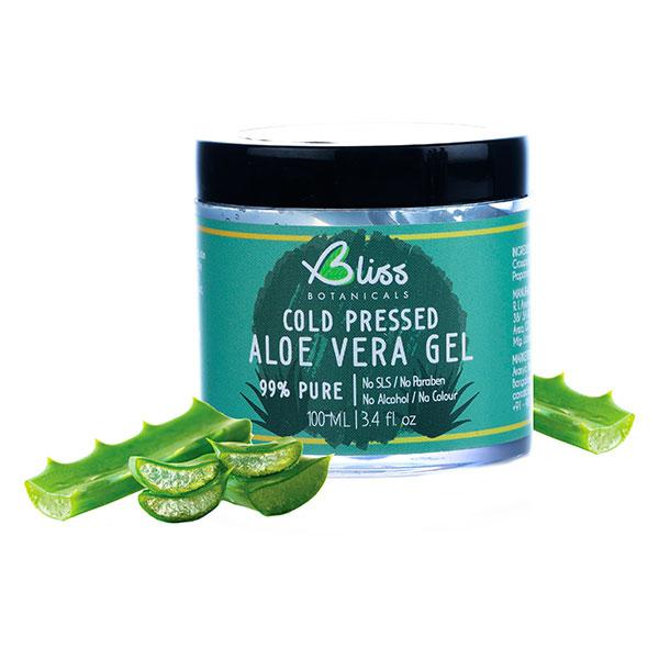 Bliss Cold Pressed Aloe Vera Gel, 100ml