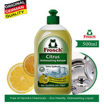 Frosch Dishwashing Liquid Citrus, 500ML