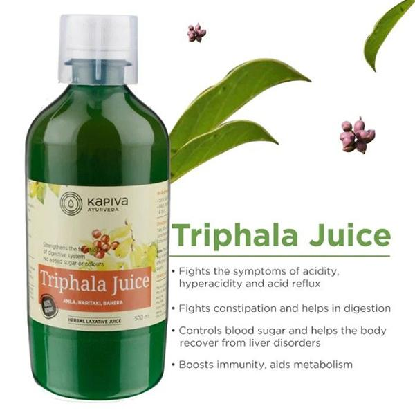 Kapiva Triphala Juice Natural Herbal Laxative, 500ml