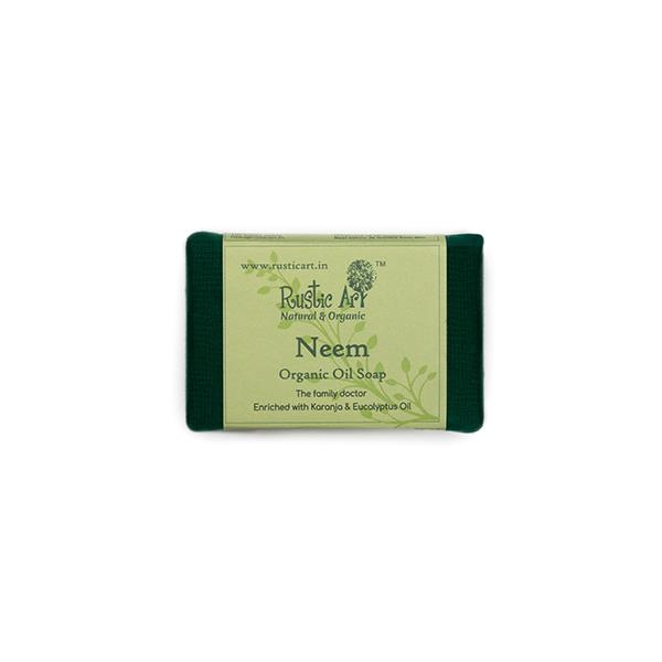 Rustic Art Neem Soap, 100g