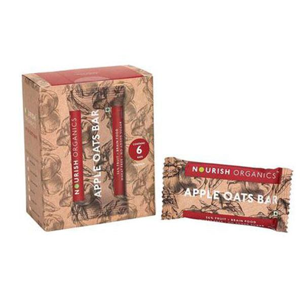 Nourish Organic Apple Oats Bar, 30gms