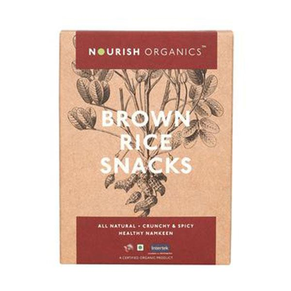 Nourish Organic Brown Rice Snacks, 150gms